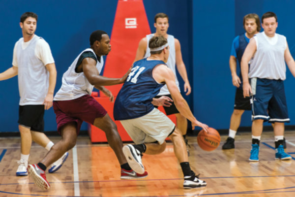 pickup basketball is played in pittsburgh pennsylvania