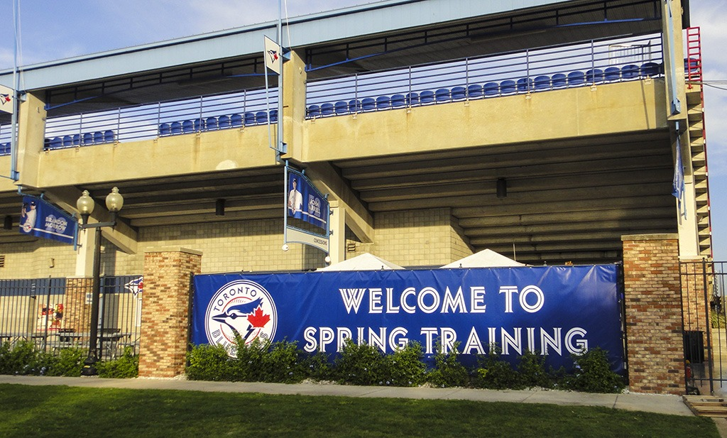 Toronto Blue Jays Spring Training camp in Dunedin Florida