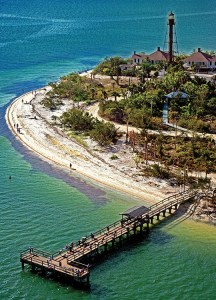 Lighthouse on Sanibel Island, Florida