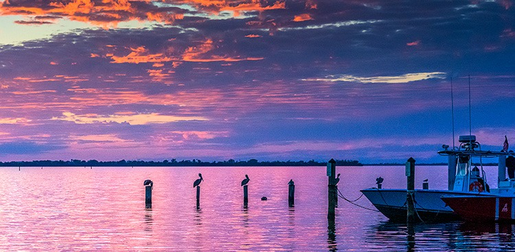 Sunset on Pine Island, Florida