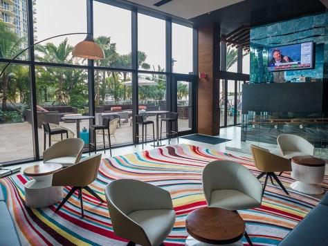 The Waterstone Resort & Marina Bar area