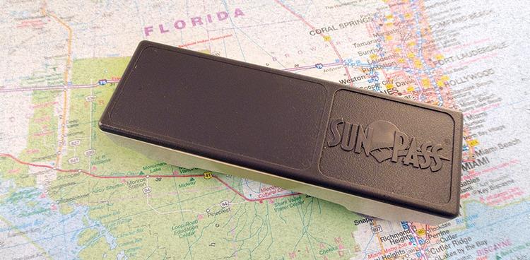 Florida Sunpass transponder