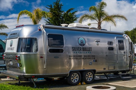 Silver Bullet Vacations Airstream at Pismo Beach