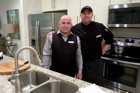 Chef Scott and Daniel at Encore Resort