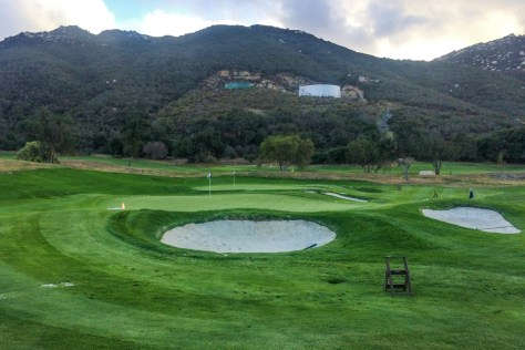 Practice area at The Journey at Pechanga