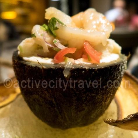 Ceviche at Steelpan, Sonesta Beach Hotel