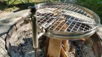 Camerons Open Fire Pit Grill Review