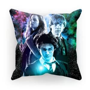 Harry Potter Ron, Hermione & Harry Pillow