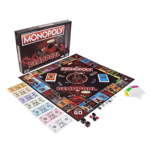 Marvel Deadpool Monopoly Board Game2
