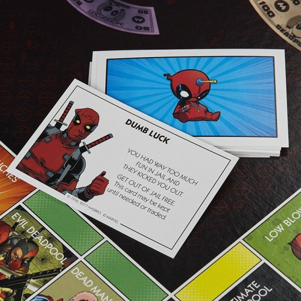 Marvel Deadpool Monopoly Board Game5