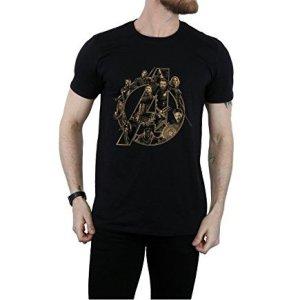 Avenger Infinity War Heroes T-Shirt Black