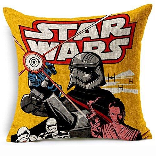 Retro Star Wars Pillow Case