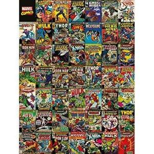 Marvel Comics Covers Canvas