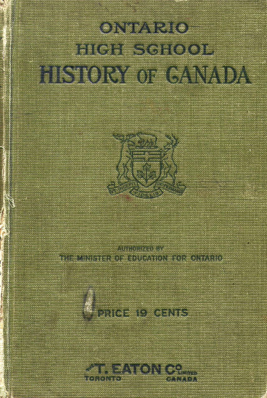 medium resolution of Citizenship Literacy and National Self-identity: The Historical Impact of  Curriculum and Textbooks in Shaping the Character of Ontario – Active  History