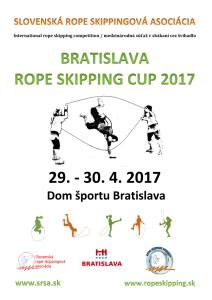 BRATISLAVA ROPE SKIPPING CUP 2017 - súťaž v skákaní cez švihadlo @ DOM ŠPORTU BRATISLAVA | Slovensko
