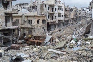 Homs Descruction