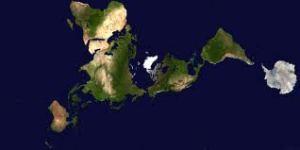Buckminster Fuller Map of Earth