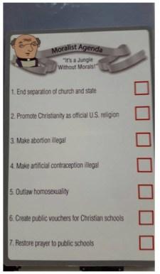 Agenda Moralist