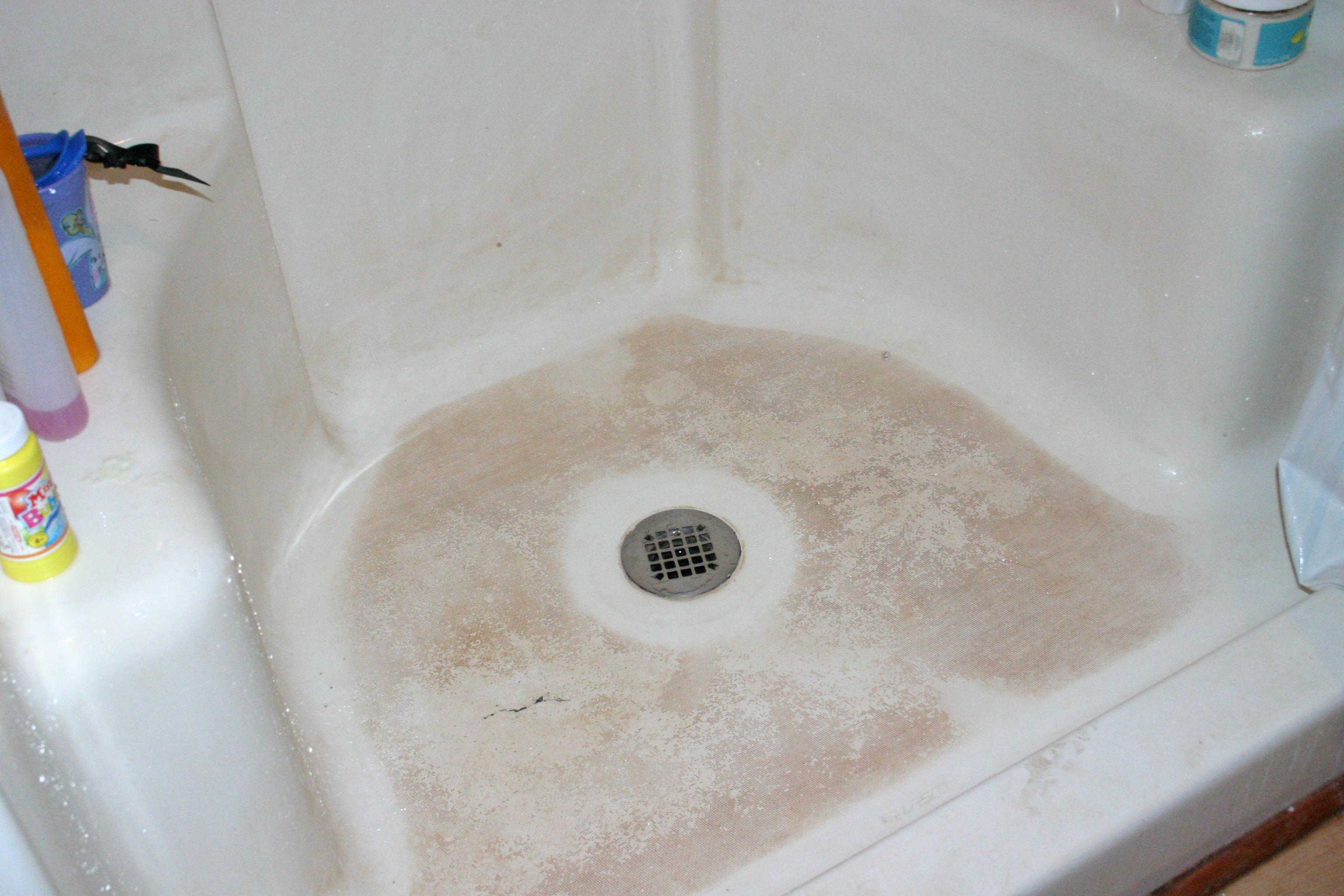 Shower Soap Scum And Dirt Active Moms Nutrition