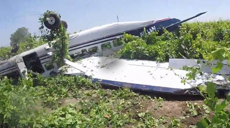 Camera Captures Northern California Skydive Plane Crash from