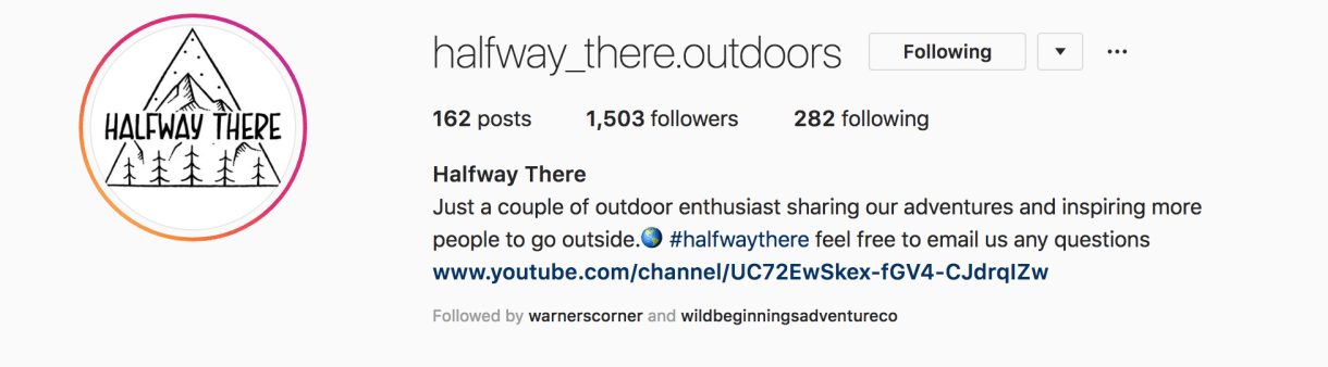 Just A Couple Of Outdoor Enthusiast Sharing Our Adventures And Inspiring More People To Go Outside Halfway Outdoors Has Stunning Photos From All Over