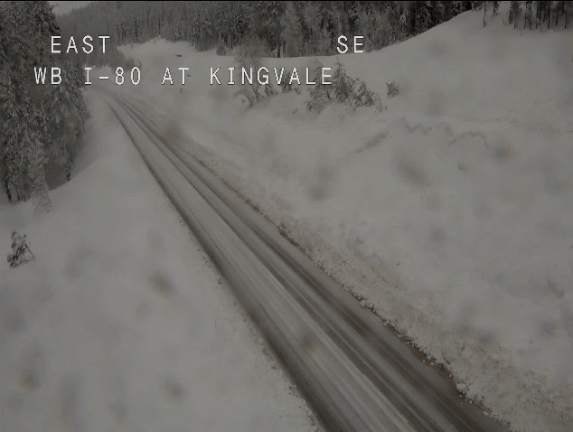 Interstate 80 Reopens Near Tahoe Following 2-Day Storm Closure
