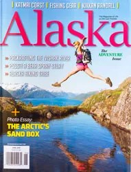 Alaska Magazine Cover June 2018 photographed by Michael DeYoung