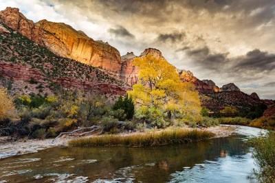 Moody skies over Zion Canyon © Michael DeYoung