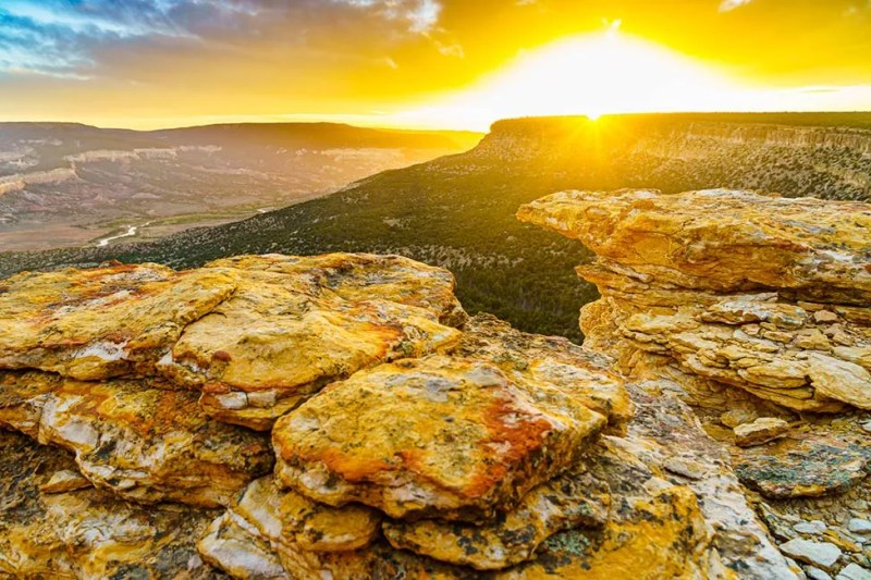 Sunset above Rio Chama Wilderness © Michael DeYoung