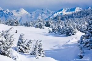 Backcountry Skiing in Alaska © Michael DeYoung