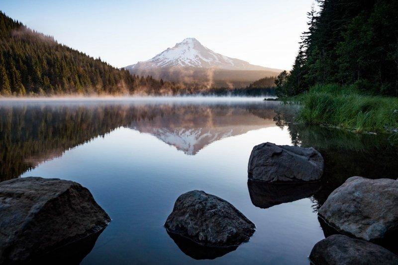 SUP Mt Hood River Oregon