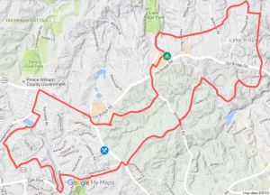 Bikes and Beers Social Pre-ride Route Map