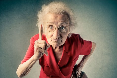 Image result for little old lady