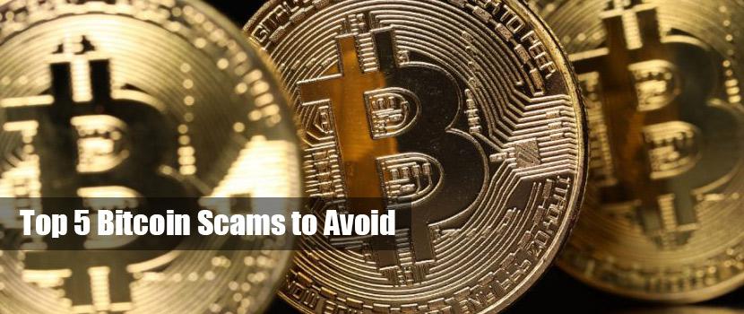 top 5 bitcoin scams