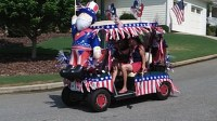 Golf Cart Parade Ideas on Pinterest