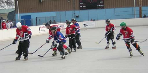 Briarcliffe Athletice Association In Line Hockey