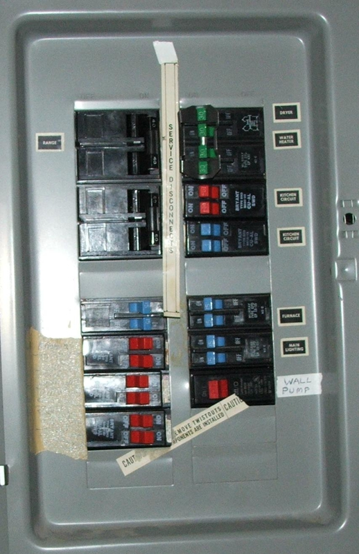 typical home electrical wiring diagram 2005 honda accord alarm my panel has no main breaker---is that a problem?