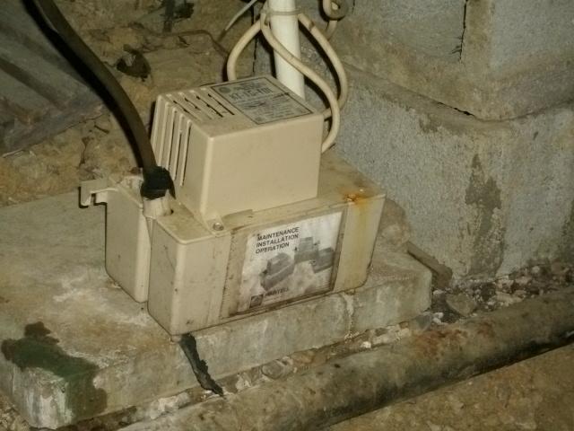 Hvac Condensate Pump Drain Line