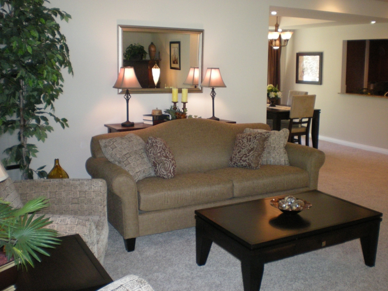Home Staging: Family Room After