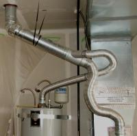 Gas Furnace Flue Pipe