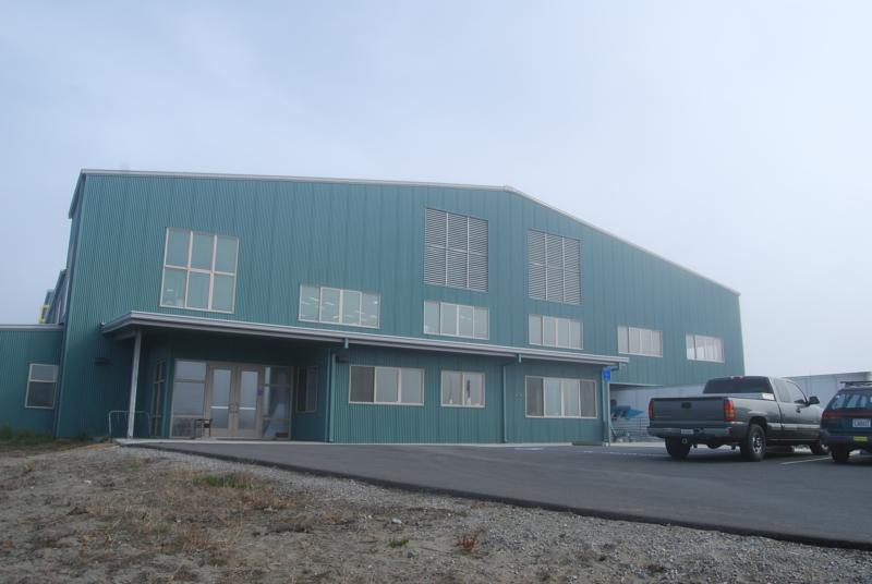 Eureka CA Recycling Center LEED Certified Building