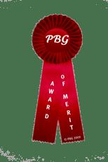 PBG Award of Merit