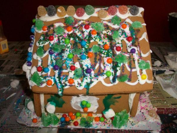 The Ugliest Gingerbread House Ever