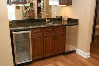 Basement: Wet Bar Cabinets