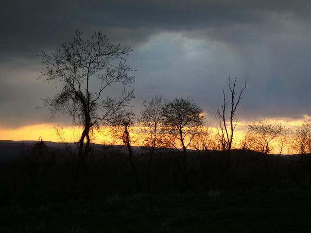 Sunrise over the ridge
