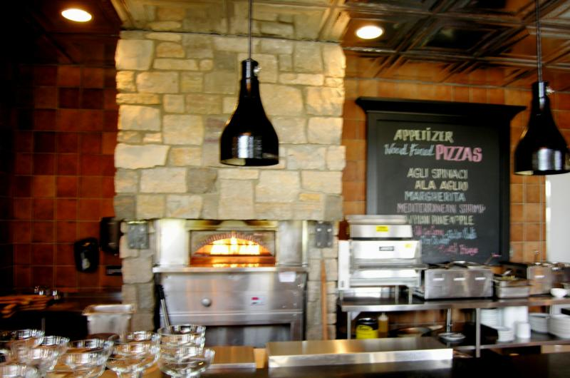 pizza oven at the grille watermark cc cascade real estate information