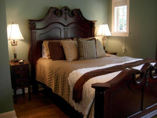 traditional style master bedroom Marin County Home Stager - Staging for Traditional Home Architecture and Style