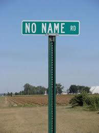 No Name Road Sign