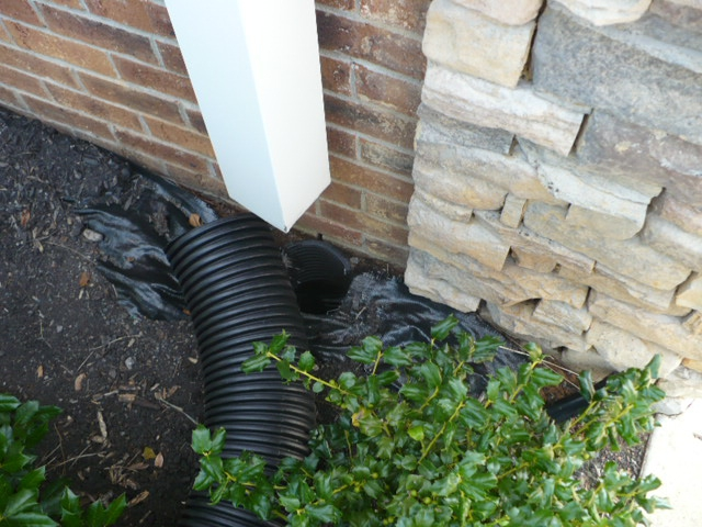 Disconnected Downspout - Abandoned Underground