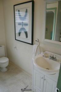 Bathroom Remodel Before & After, Makaha Hawaii